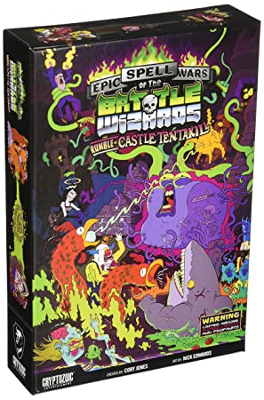 Cryptozoic Entertainment Juego de Cartas, Inc. Epic Spell Wars of The Battle Wizards II: Rumble at Castle Tentakill.