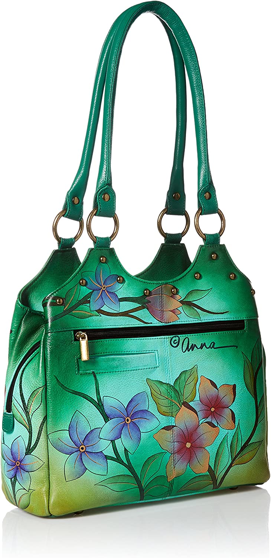 Genuine Leather Anna by Anuschka Satchel Handbag