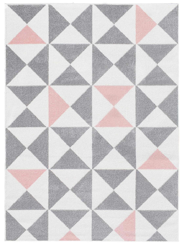 Rose, 60 x 110 CM de Couleur et Taille diff/érentes. NAZAR Tapis de Salon Moderne /à Design scandinave