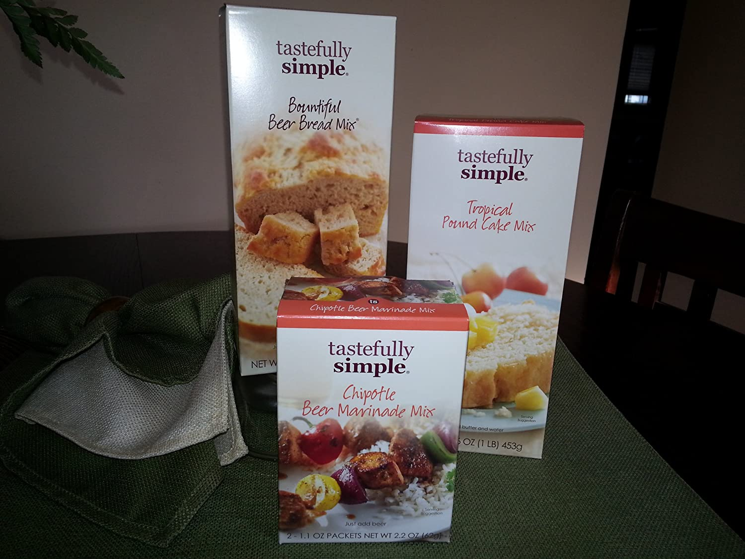 Amazon.com : Tastefully Simple :Tropical Pound Cake Mix, Bountiful ...