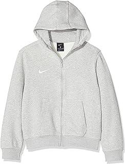 Nike Hoodie Ya76 Brushed Fleece Full Zip, Felpa Bambino