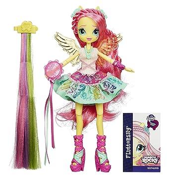 Amazoncom My Little Pony Equestria Girls Rainbow Rocks - Rockin hairstyles dolls