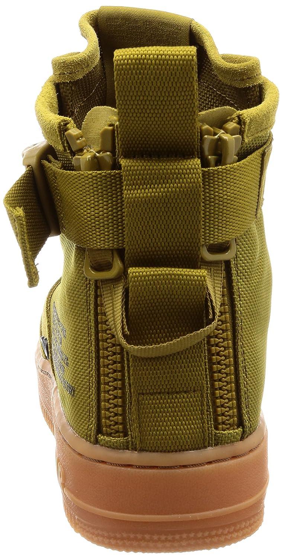 Nike SF Air Force 1 Mid, Zapatillas de Gimnasia para Hombre, Verde (Desert Moss/Gum Medium 301), 48.5 EU
