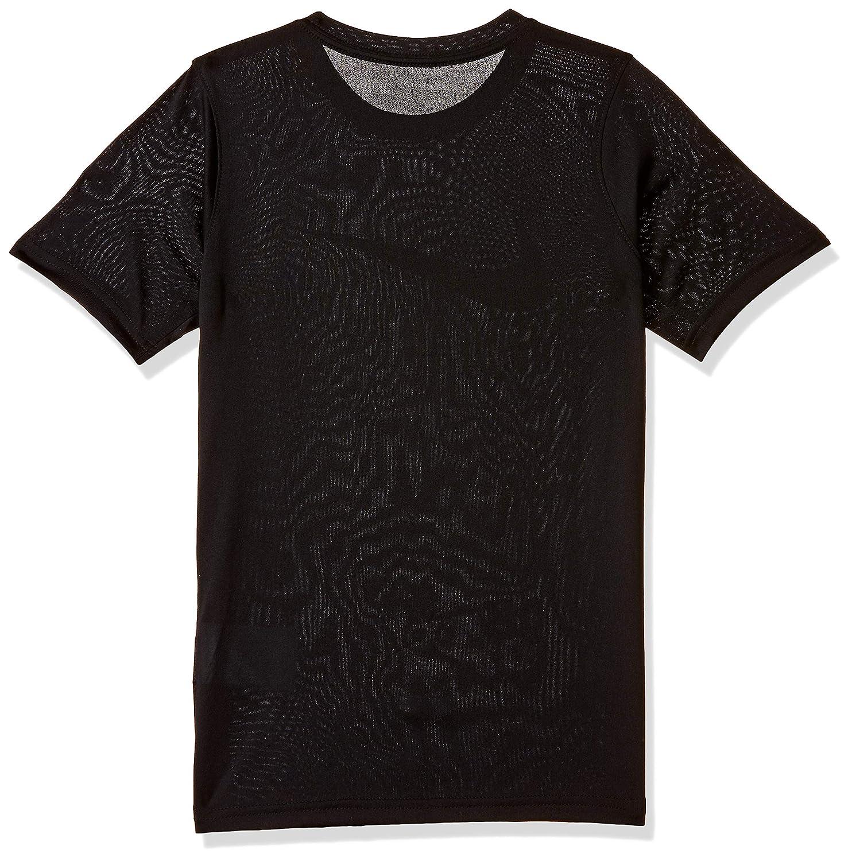 5da28087e208 Amazon.com  NIKE Boys  Dry Short Sleeve Swoosh Solid Tee  Sports   Outdoors