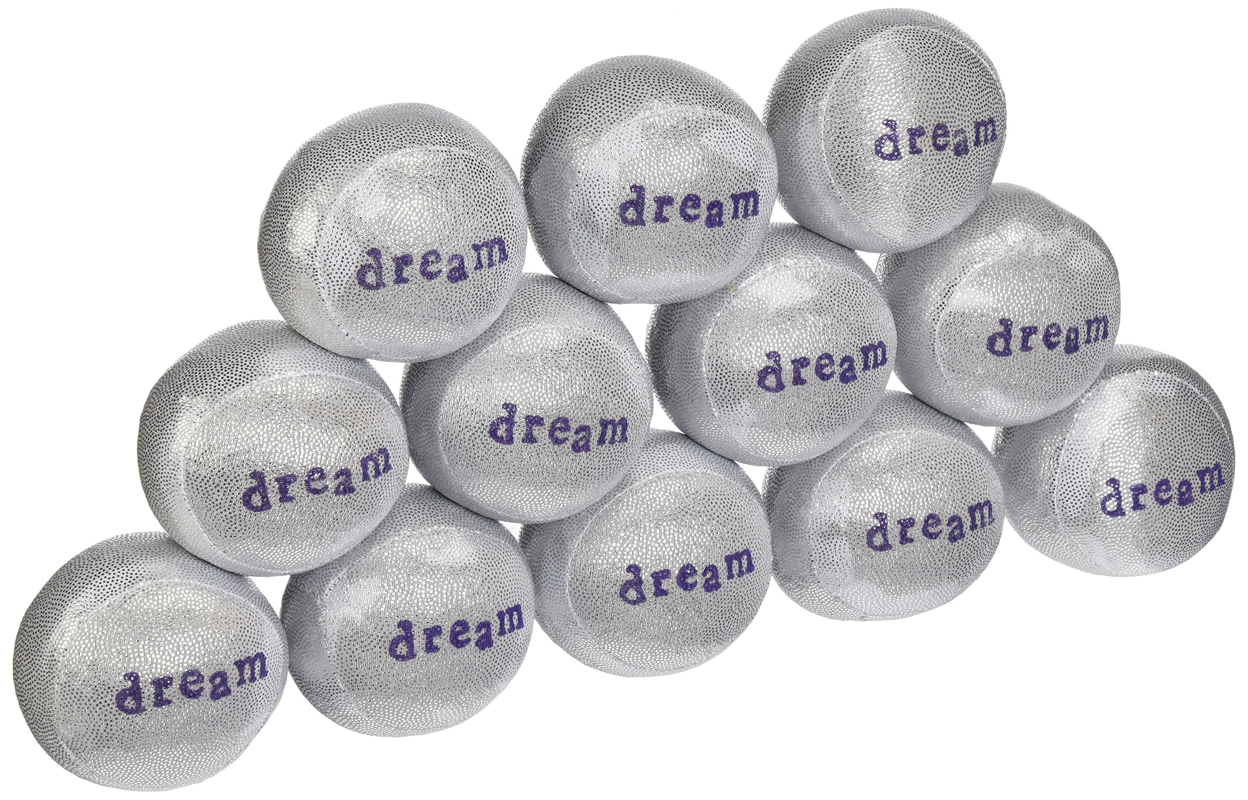 Lavender Luvies Lavender Stress Balls, Silver Dream - 12 Pack by Lavender Luvies (Image #1)