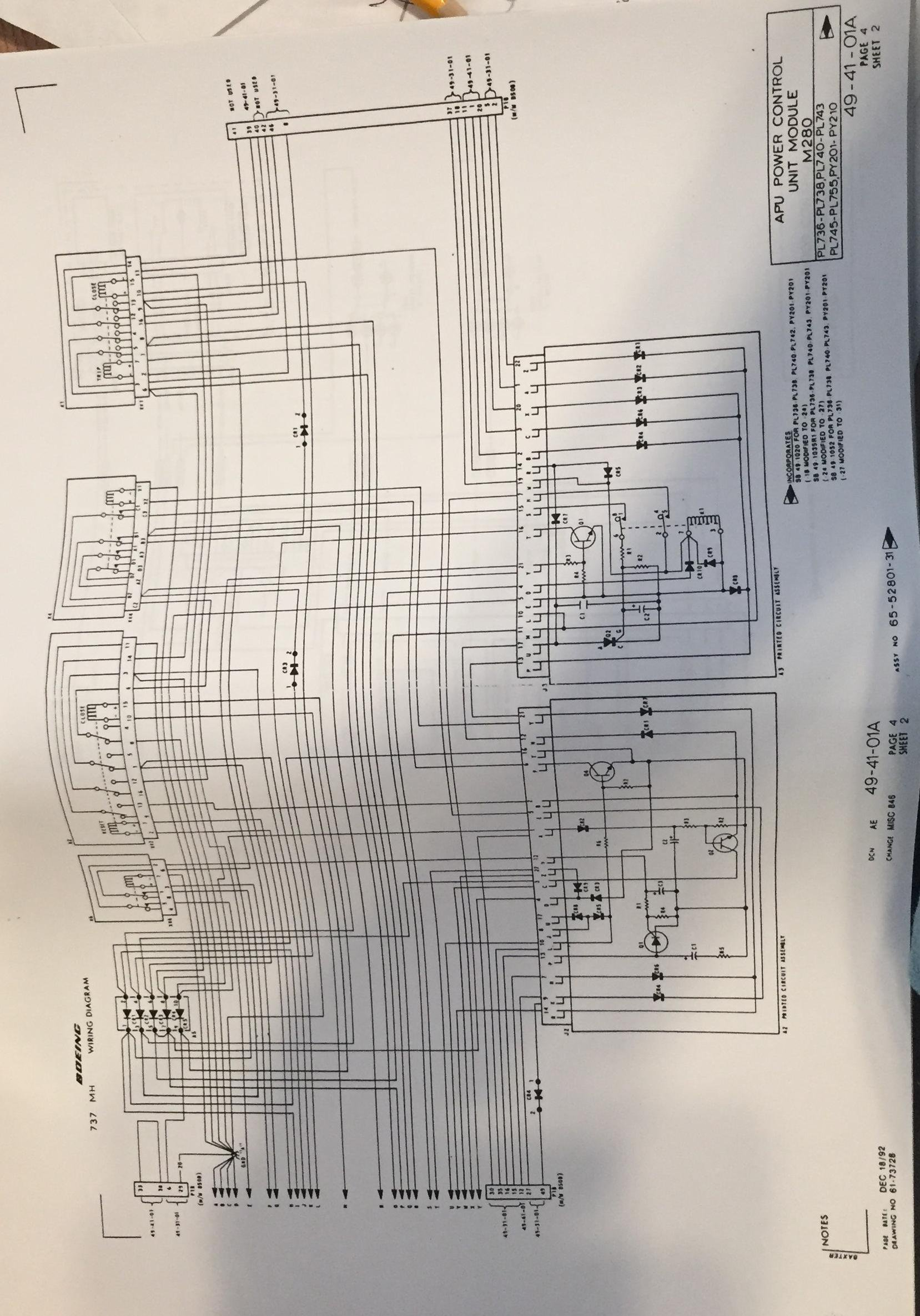 boeing 737 wh wiring diagram manual volume 2 of 2 boeing Boeing Wiring Diagram