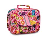 Bixbee Kids Lunch Box Funtastical Pink Insulated