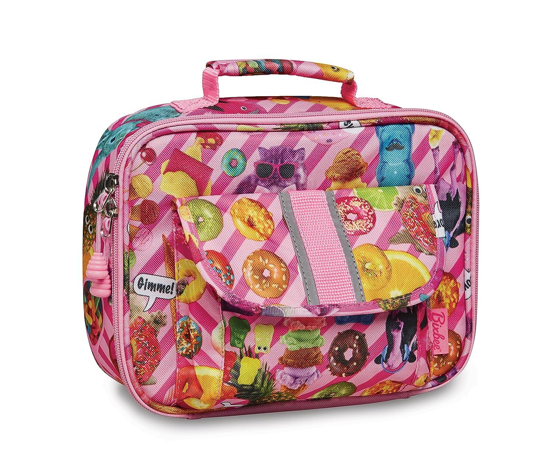 Amazon.com  Bixbee Little Girls  Funtastical Lunchbox, Pink, None e8eebf7aa2