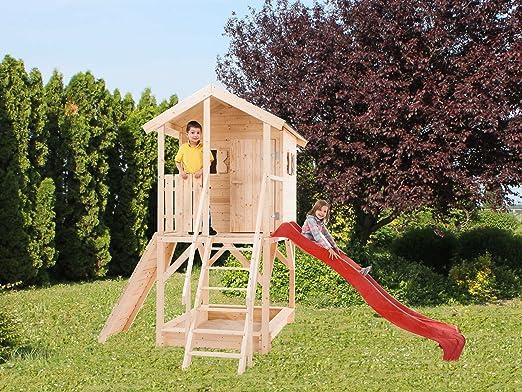 Casitas De Madera Caseta de jardín para niños de madera de abeto Alida 15 mm-1,16 mq-123 X 100 cm: Amazon.es: Hogar