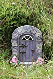 Solar Powered decorativo adorno de jardín de hada puerta cambia de color