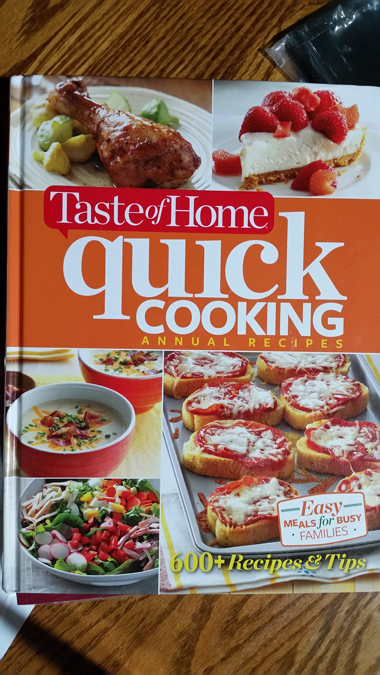 Taste Of Home Quick Cooking Annual Recipes Christine Rukavena