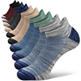 Closemate Ankle Athletic Socks Cotton Non Slip Low Cut Running Socks for Sport 5 Pairs