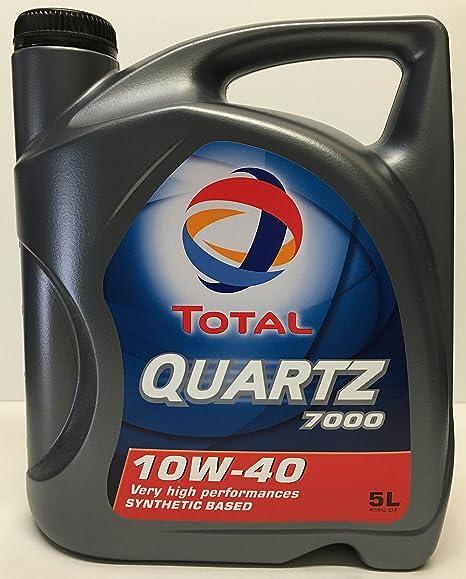 Total To710405 Quartz 7000 10w40 A3 B4 5l Auto