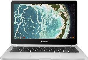 ASUS Chromebook Flip C302CA-DH54 12.5-inch Touchscreen Convertible Chromebook Intel Core m5, 4GB RAM, 64GB Flash Storage Chrome OS (Renewed)