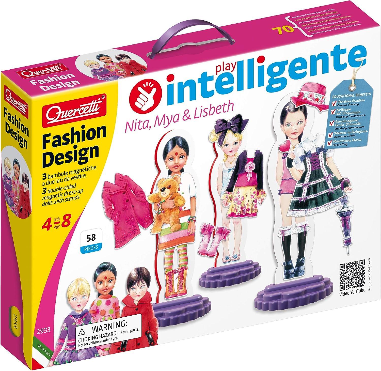 Quercetti 2933 Fashion Design - Recortables magnéticos para ...