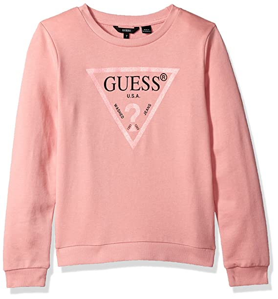 Carousel Guess core Activewear Rosa Sudadera Pink Para Ls Niñas 0f0rF 0f6667a67dac3