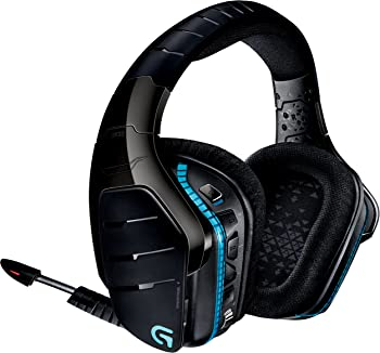 Logitech G933 On-Ear USB Wireless Bluetooth Gaming Headphones