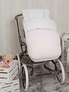Saco silla de paseo universal de invierno en punto de lana y ...