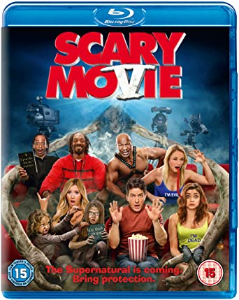Amazon Com Scary Movie 5 Blu Ray Lindsay Lohan Charlie Sheen Terry Crews Ashley Tisdale Kate Walsh Simon Rex Gracie Whitton Ava Kolker Dylan Morris Ryan Morris Steven Douglas Smith Malcolm D Lee David