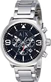 Armani Exchange Atlc Analog Black Dial Men's Watch - AX1369