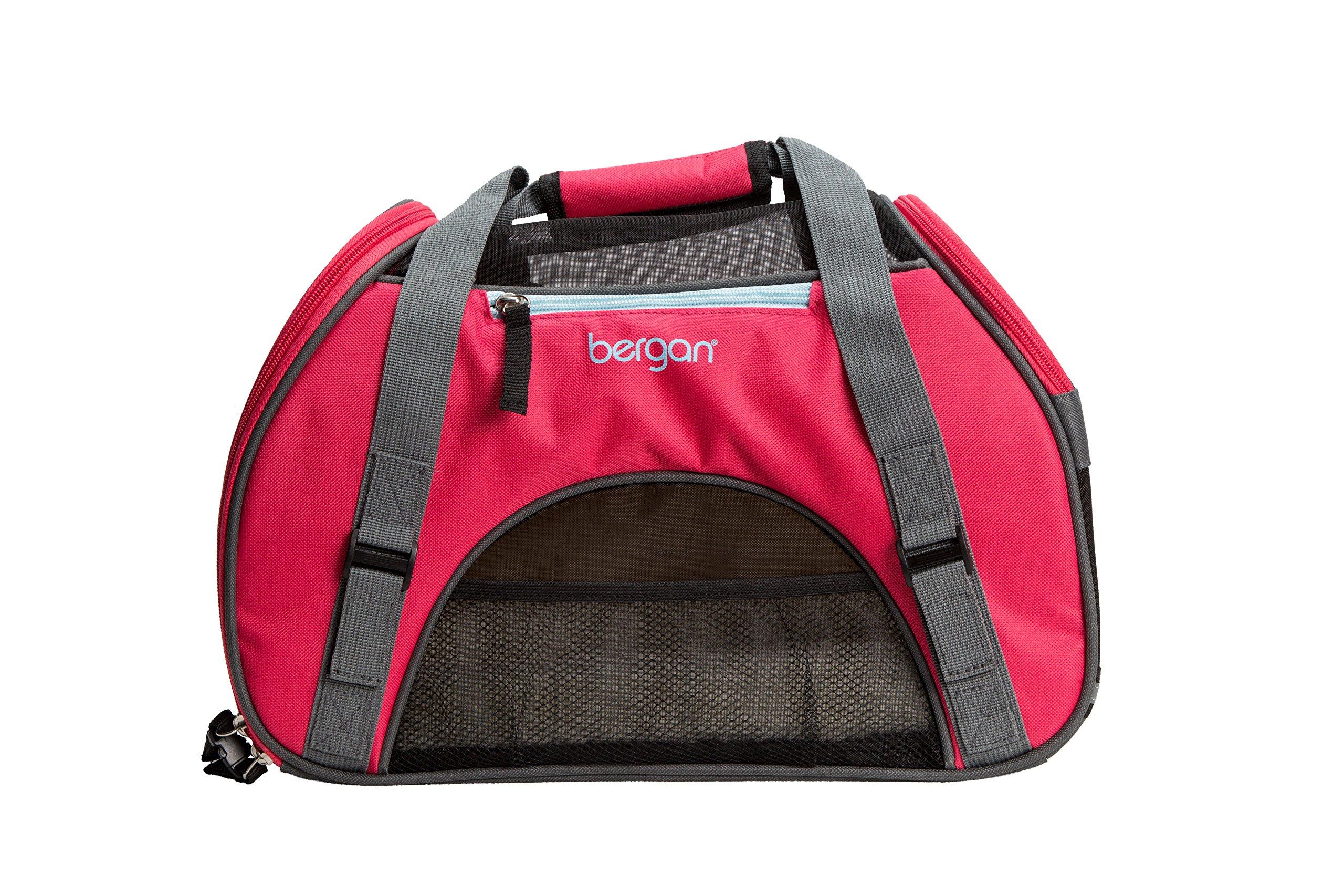 Bergan Comfort Carrier, Small, Berry Pink