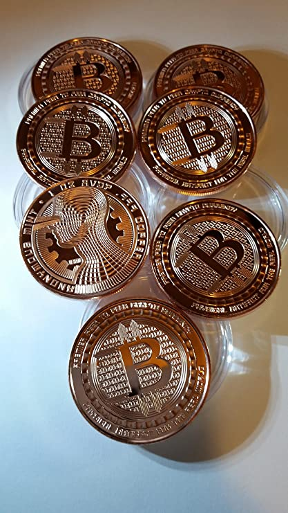 Amazon bitcoin guardian copper coins 7 pack toys games bitcoin guardian copper coins 7 pack ccuart Images