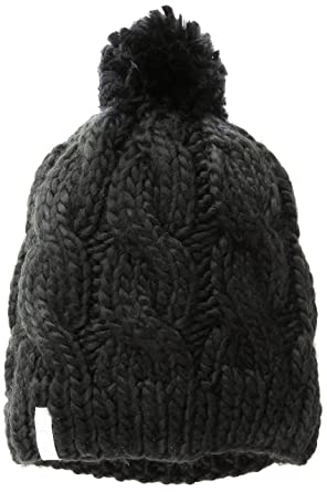 65c98a09e73 Coal Women s The Rosa Chunky Cable Pattern Pom Beanie