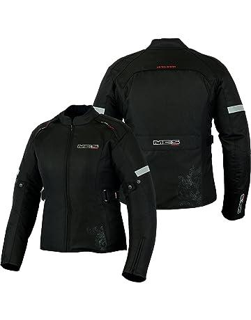 2f459720775 MBSmoto - Chaqueta de motociclismo para mujer (impermeable