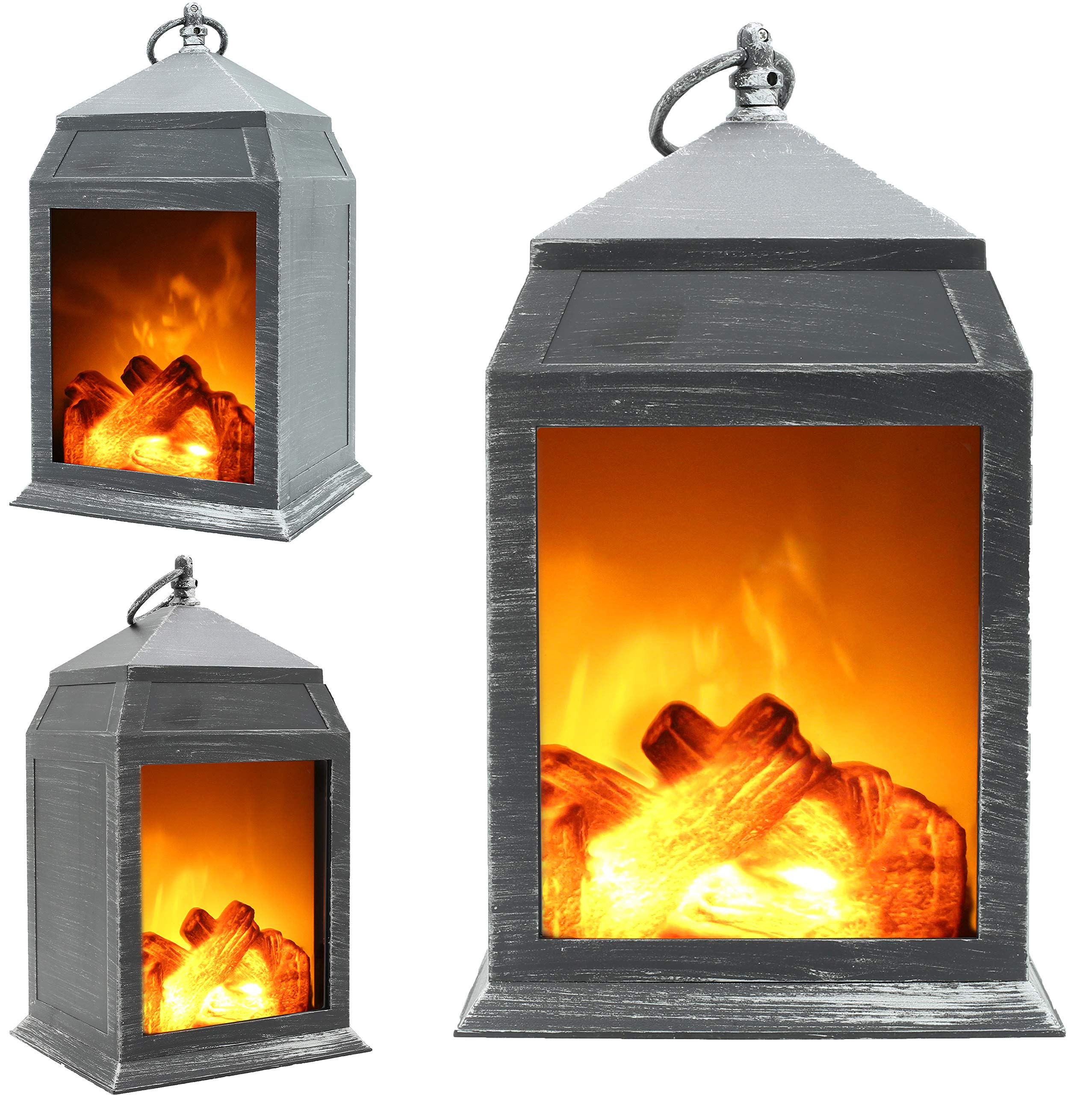 Fireplace Lamp Led Flame Effect Log Fire Place Ornaments Home Decor