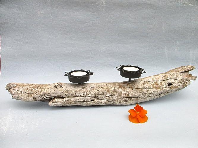 Treibholz Teelicht Halter Keramik Treibholz Deko Tisch Deko Wohn