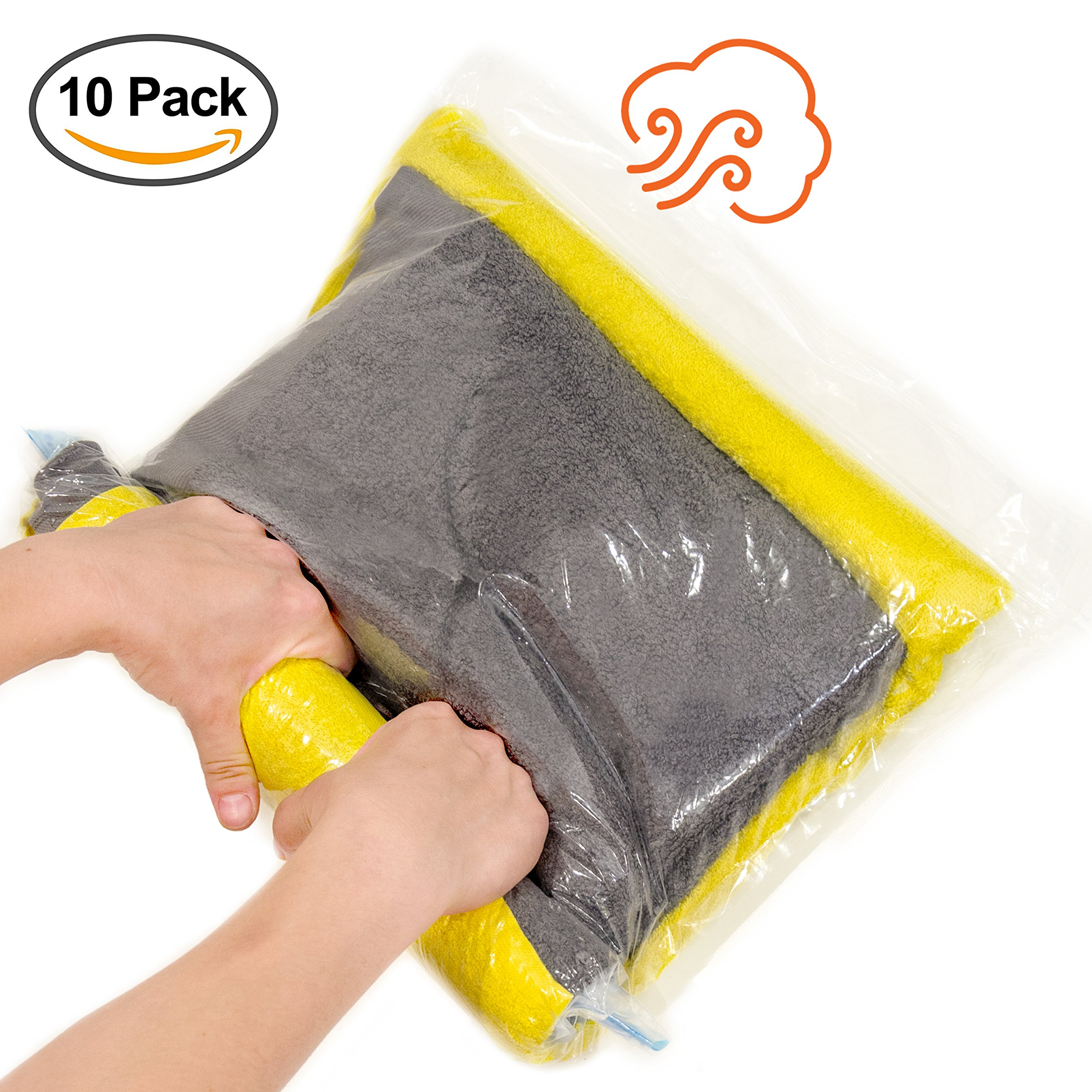 31ca432506f0 ... Travel Storage Bags For Clothes Space Saver Packing Sacks -  5x Large  28x20