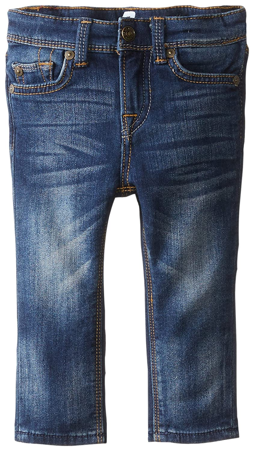 7 for all mankind Baby Boys Heritage Blue Slim Straight Jean 12 Months 7FBI0641