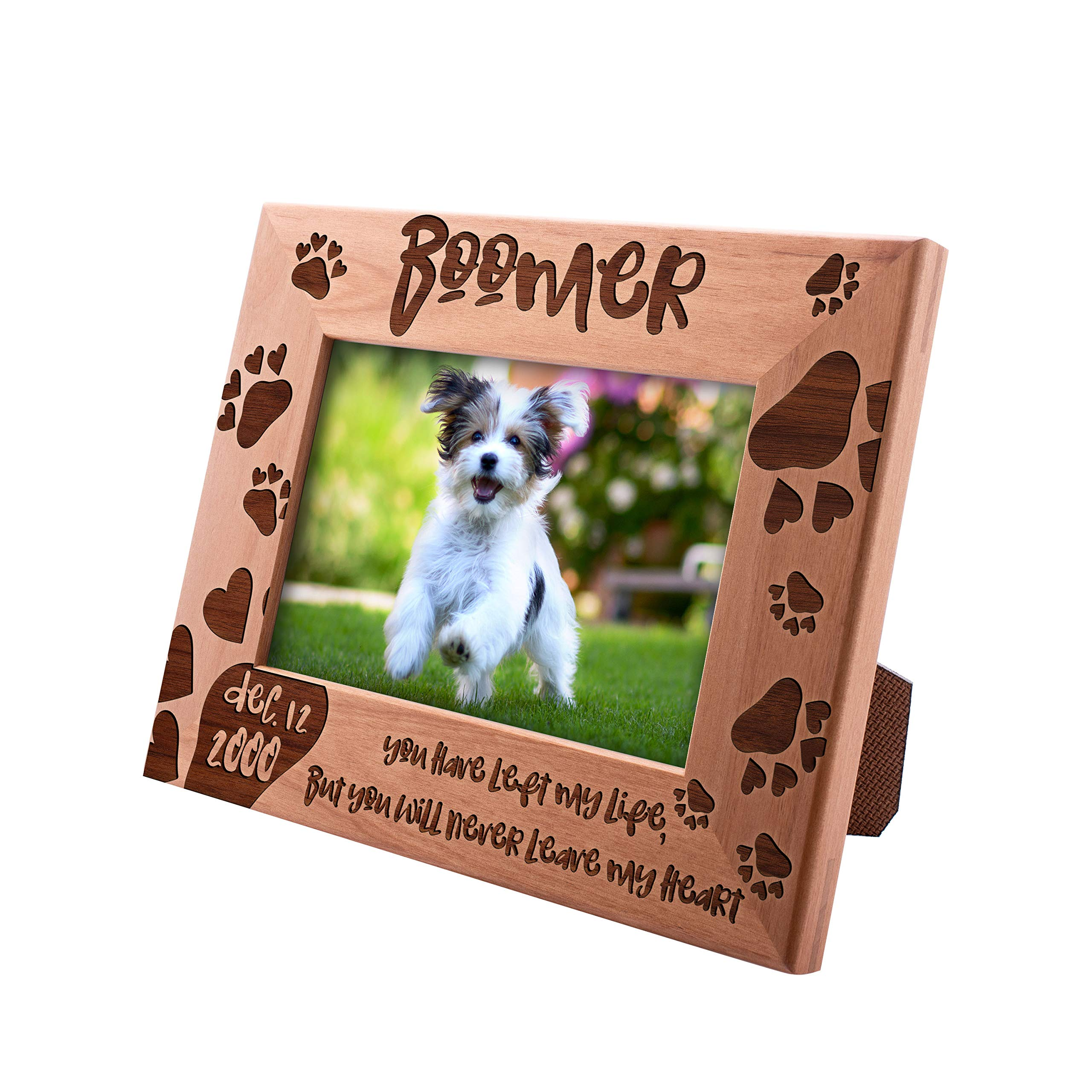 UnitedCraftSupplies Personalized Pet Picture Frames for Pet Owners 4x6, 5x7, 8x10 - Pet Memorial Picture Frame Pet Photo Frame Pet Memorial Frame #9