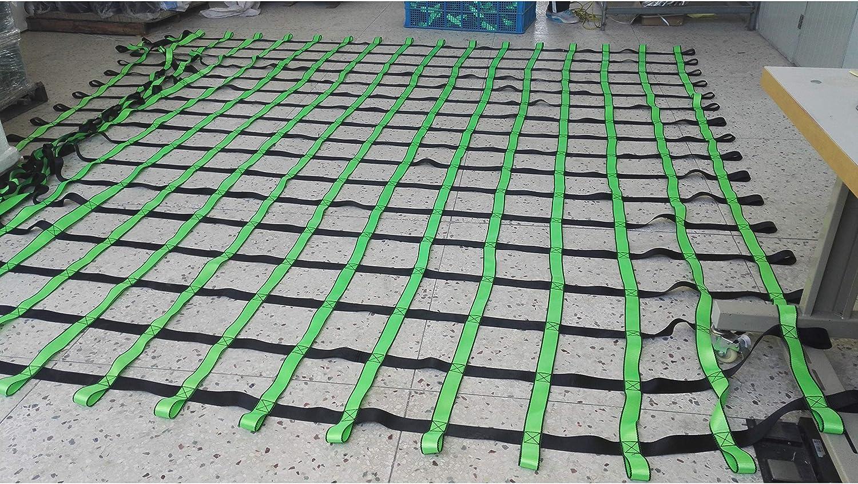 FONG 登山ネット 13フィート x 33フィート 障害物用 高耐久