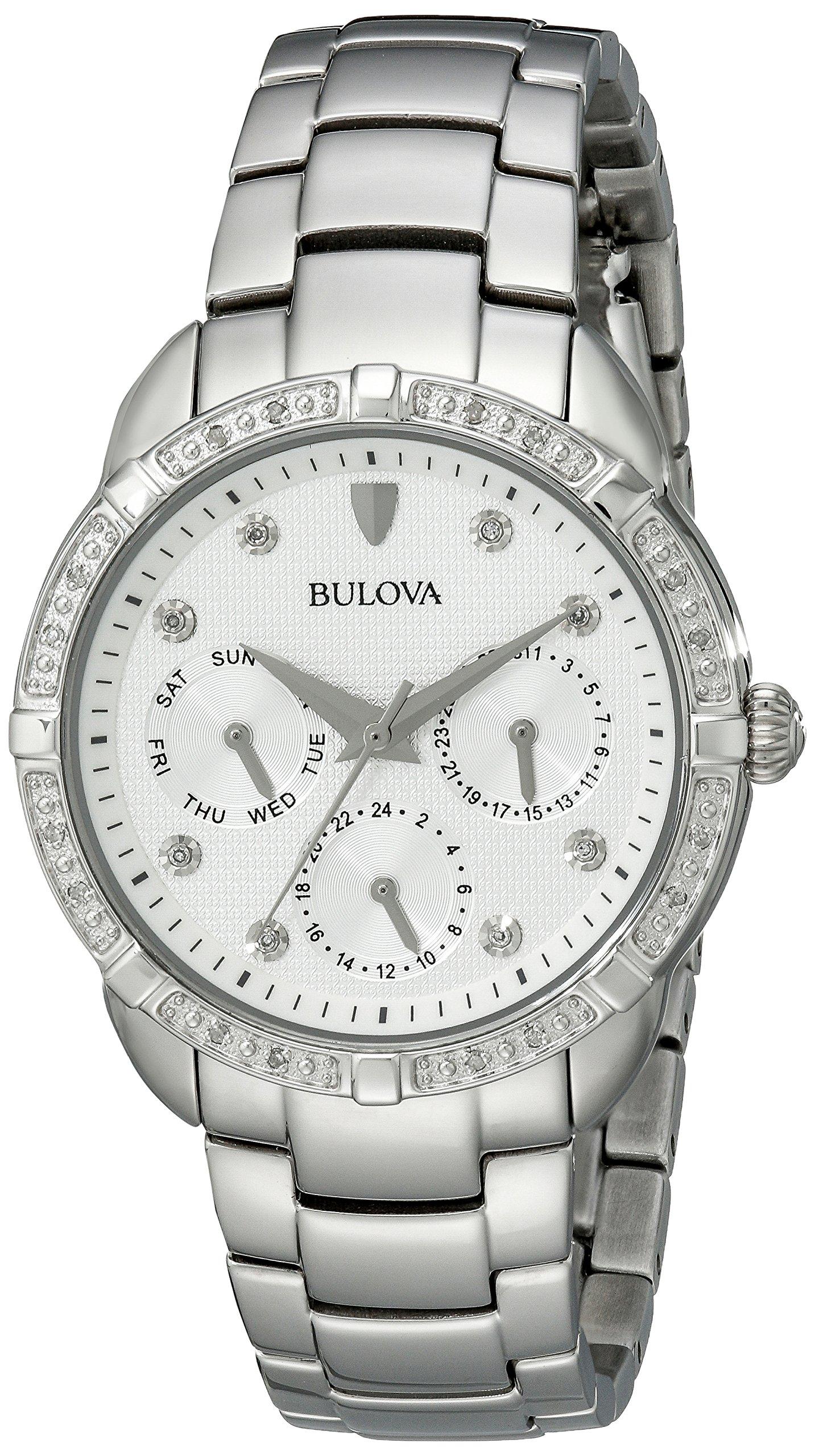 Bulova Women's 96R195 Multi-Function Dial Stainless Steel  Watch by Bulova (Image #1)