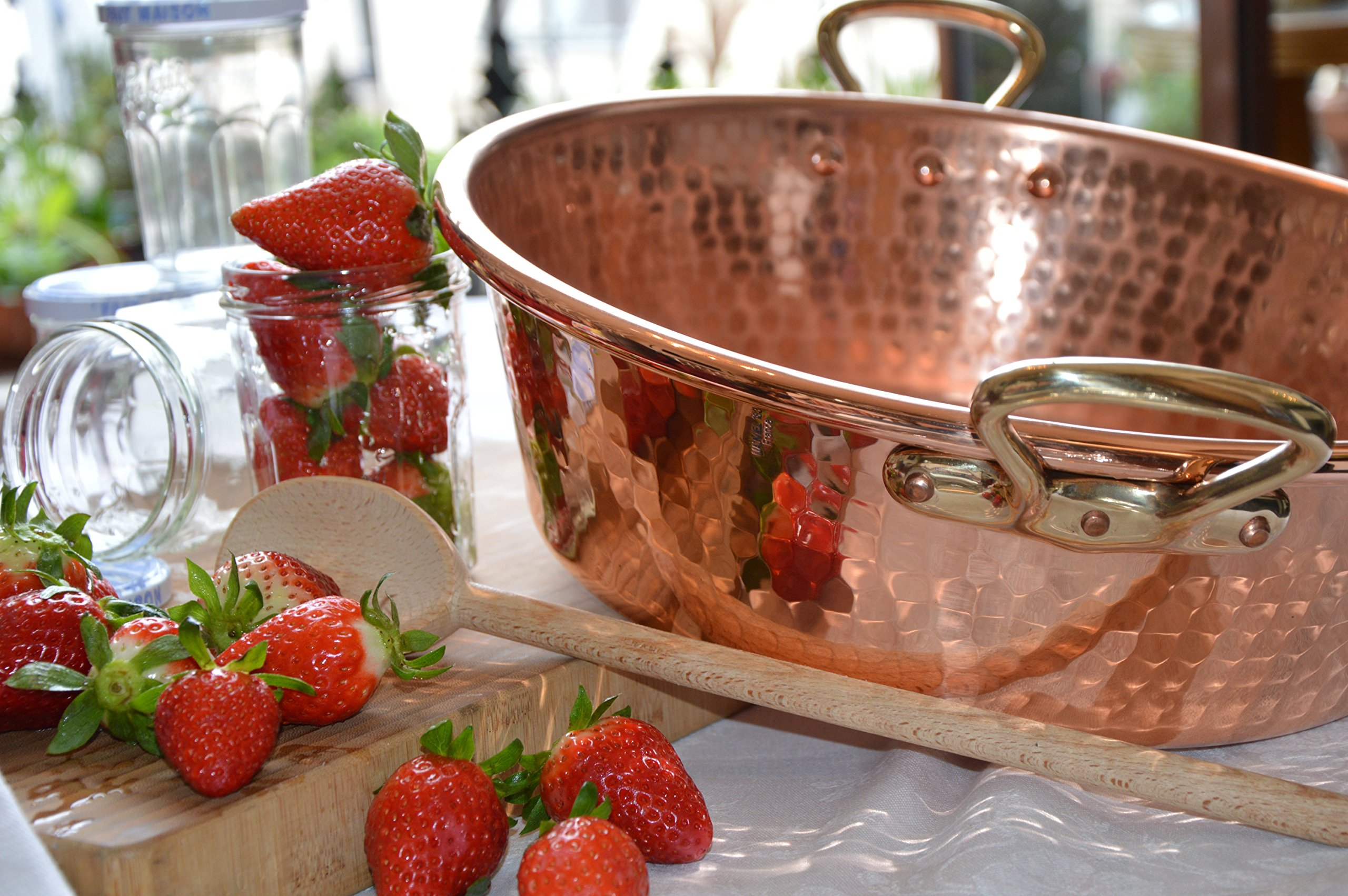 Mauviel Made In France M'Passion 2193.36 11-Quart Copper Jam Pan with Bronze Handles by Mauviel (Image #2)