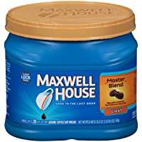 Deals on Maxwell House Ground Coffee, Master Blend, 26.8 Ounce
