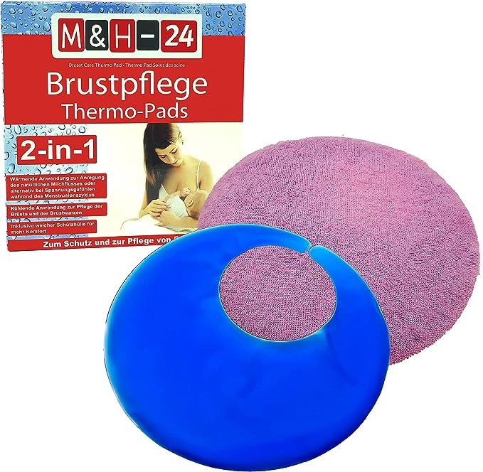 M&H-24 - Almohadillas térmicas de gel para el cuidado del pecho ...