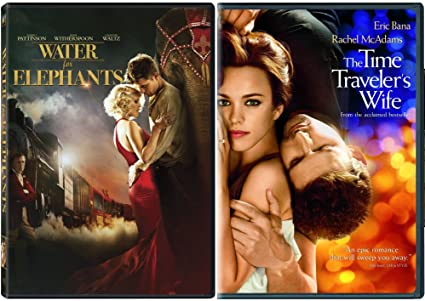 amazon com time travelers wife water for elephants dvd 2 pack