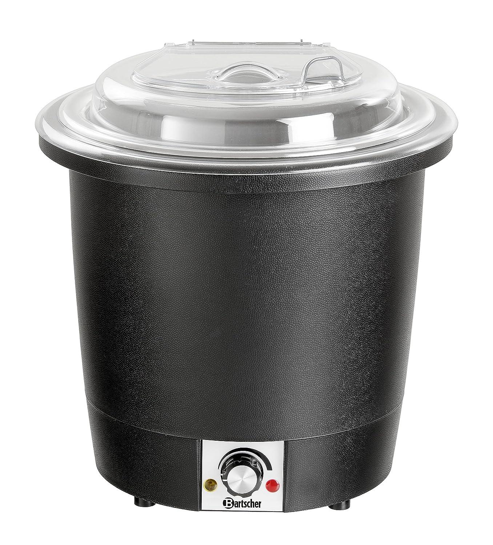 Marmita de sopa 10 litros, negra - Bartscher 100048: Amazon ...