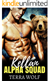 Kellan: A Military Shifter Secret Baby Romance (Alpha Squad Book 1)