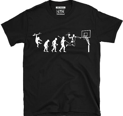 6TN Hombre Brilla en la Oscuridad Evolution de Baloncesto Camiseta ...