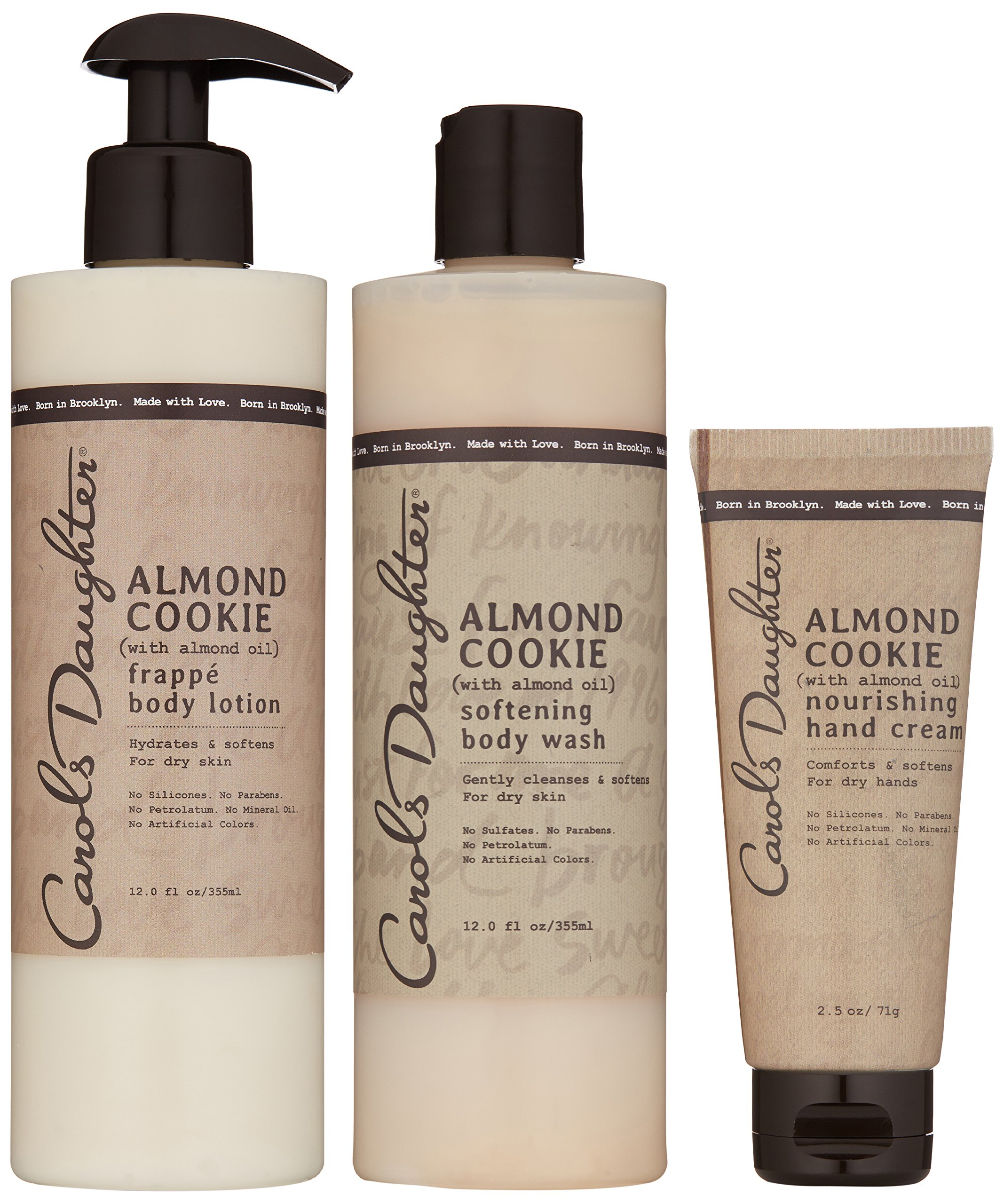 Carols Daughter Almond Cookie Body Gift Set for Dry Skin