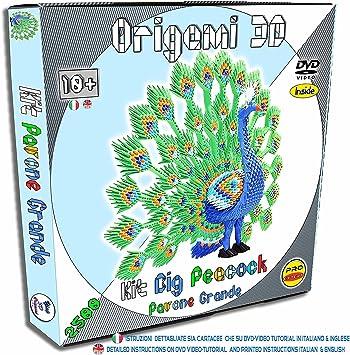 3D ORIGAMI PEACOCK - size XXXL   eBay   355x349