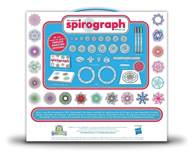 Amazon.com: Kahootz Spirograph Deluxe Design Set: Toys & Games