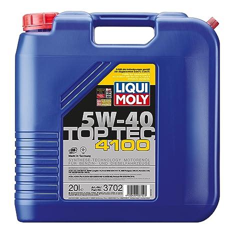 Liqui Moly 3702 aceite de motor