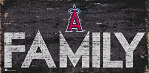 Fan Creations MLB Los Angeles Angels Unisex Los Angeles Angels Family Sign, Team Color, 6 x 12