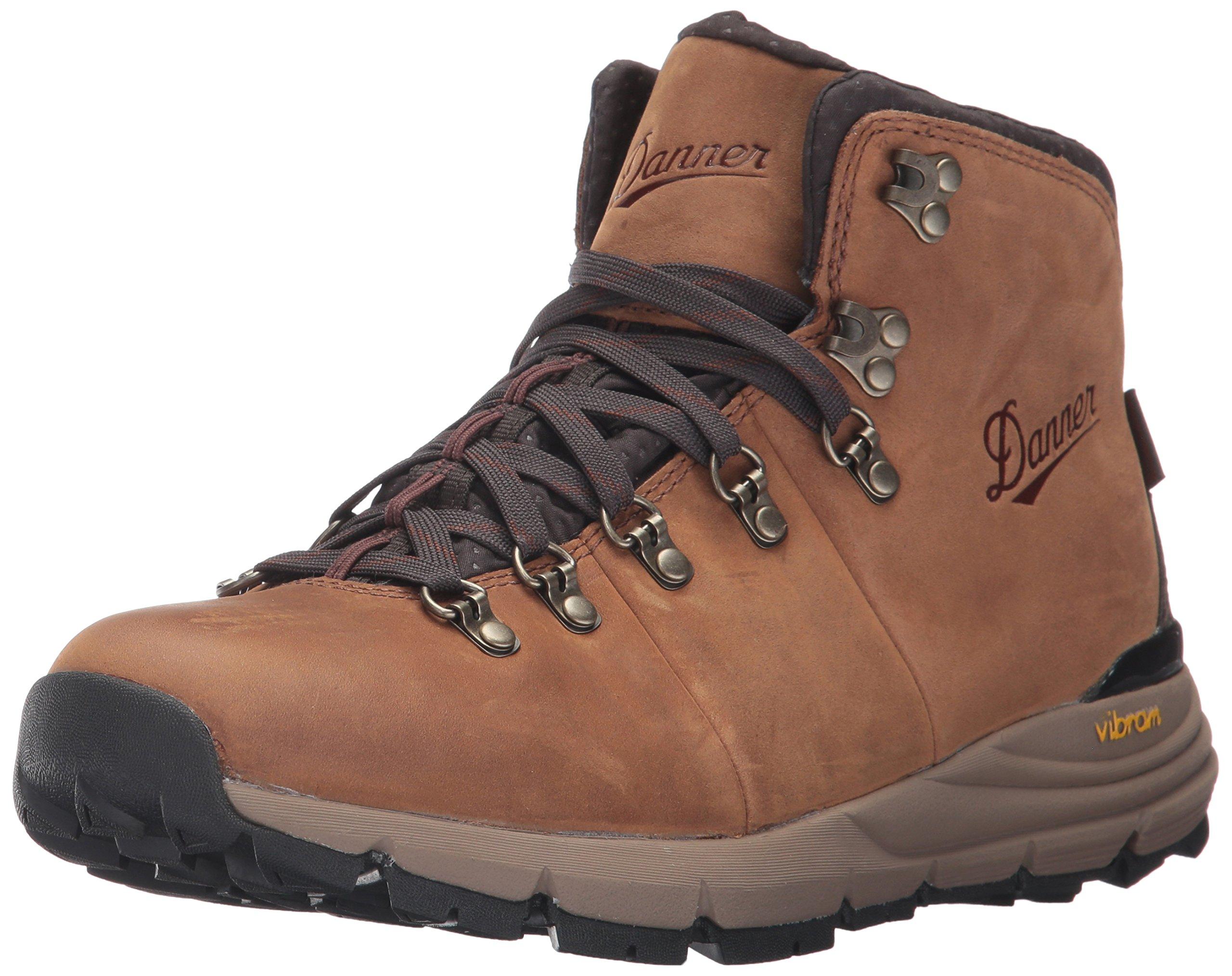 Danner Men's Mountain 600 Full Grain Hiking Boot, Rich Brown, 10 D US