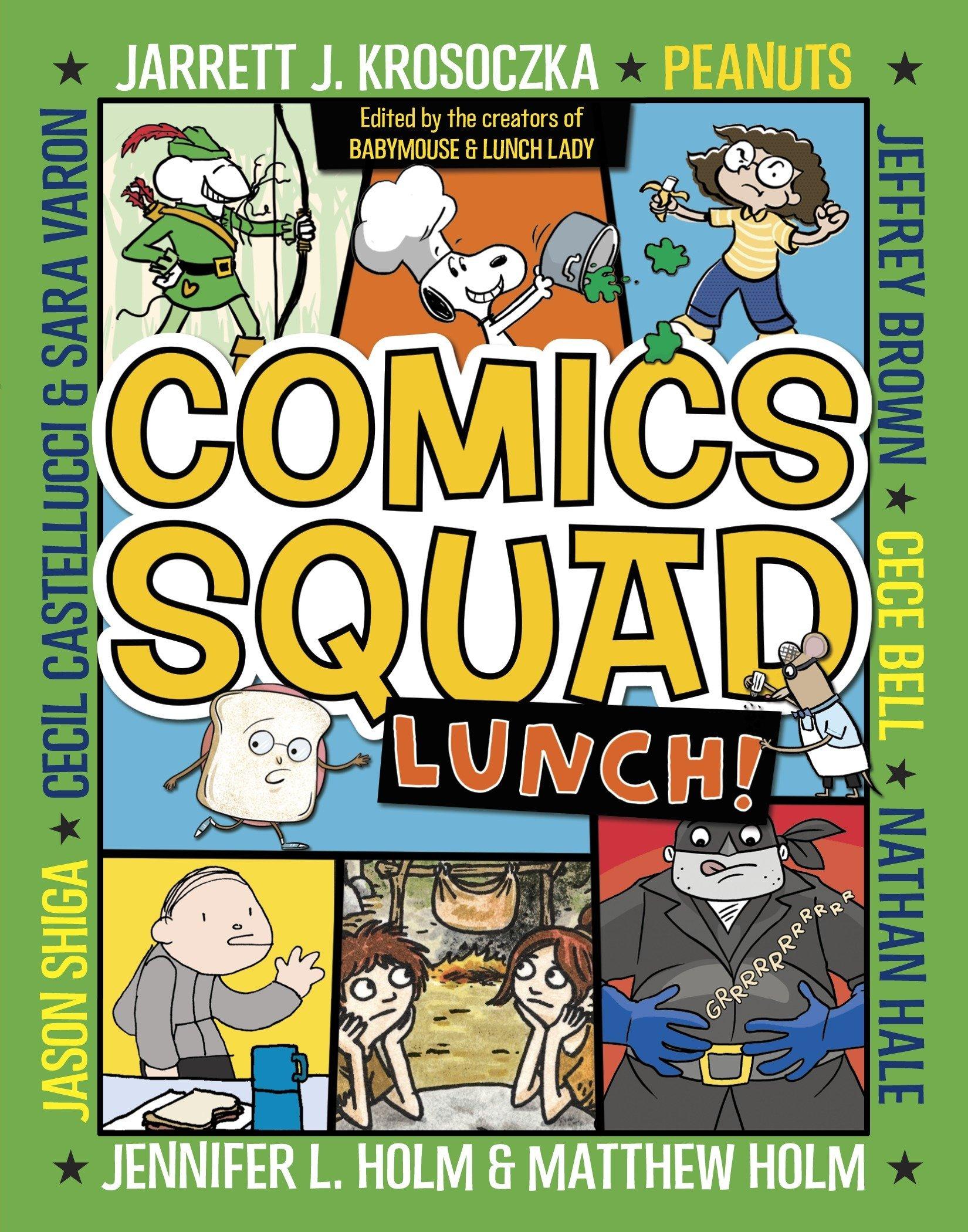 Read Online Comics Squad #2: Lunch! pdf epub