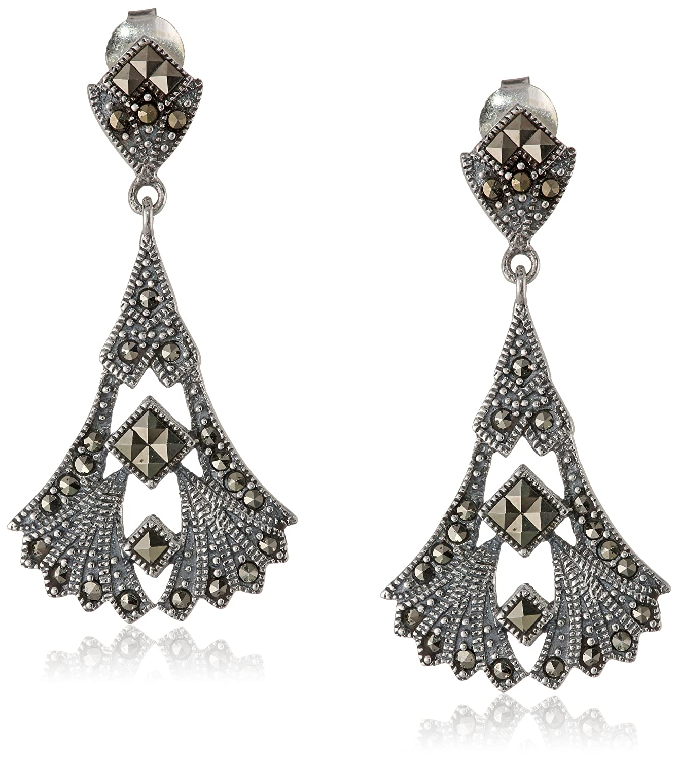 pearl earrings zoom a bhldn product post druzy drop xl type